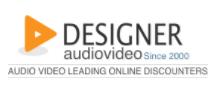 Designer Audio Video Promo Codes